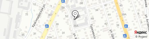 РАМА, ТОО на карте Алматы