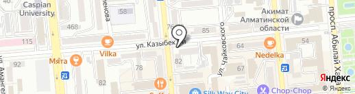 Планета Красок на карте Алматы