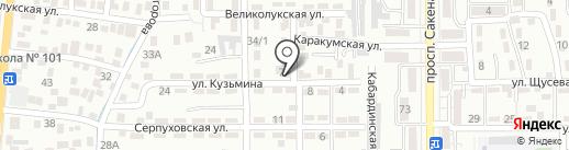 Ильхам на карте Алматы