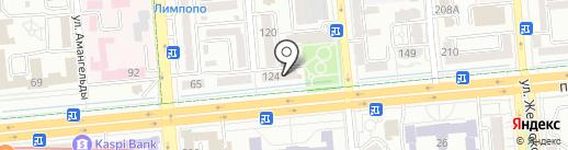 L на карте Алматы