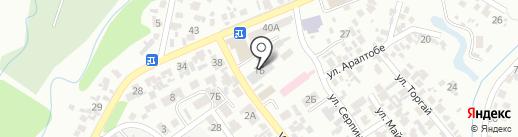 Служба вскрытия автомобильных замков на карте Первомайского