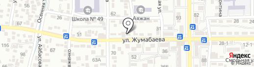 Телемастерская на карте Алматы