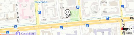 Адвокатская контора Скуратов Д.А. на карте Алматы
