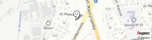 Volkswagen Audi Porsche Interservice на карте Алматы