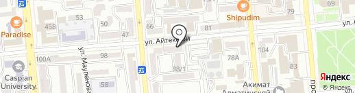 Лиза. Добрые советы на карте Алматы