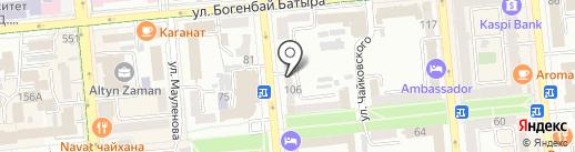 Nur М на карте Алматы