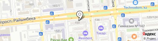 Репро Мед на карте Алматы