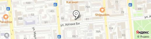 Республиканский семейно-врачебный центр на карте Алматы