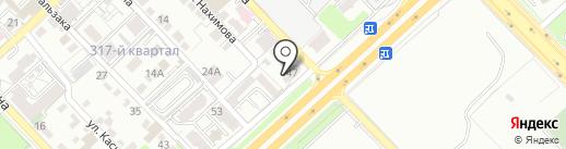 ROBBO CLUB на карте Алматы