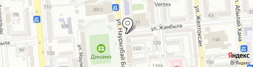 Честнок на карте Алматы