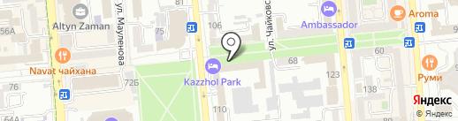 ИВК и Компания на карте Алматы