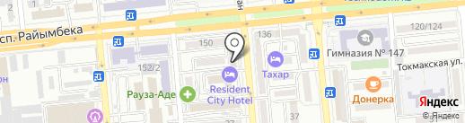 Asia Kuzet Monitoring на карте Алматы