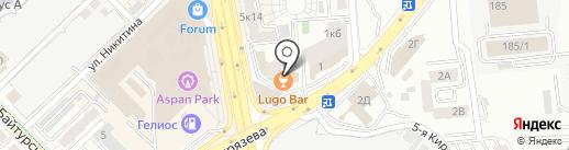 Sushi Hut на карте Алматы