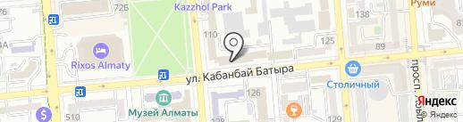 Совет ветеранов УВД г. Алматы на карте Алматы
