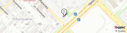 InterHouse на карте Алматы