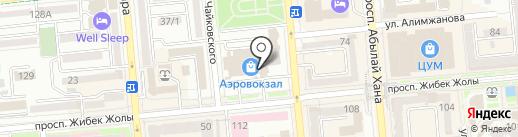 Kipacard на карте Алматы