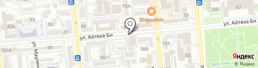 Соседнее село на карте Алматы