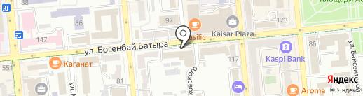 FOOD Cultura на карте Алматы