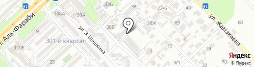 Akb24.kz на карте Алматы