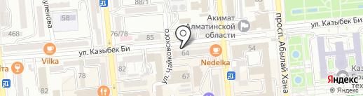 Rejuvi Казахстан на карте Алматы