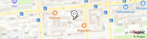 Виват Женщина на карте Алматы
