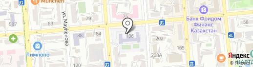 Гимназия №120 им. Мажита Бегалина на карте Алматы