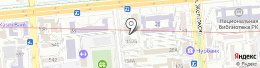 Asia Genetic Group на карте Алматы