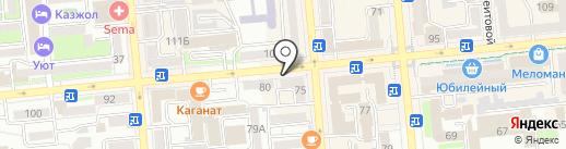 Kuropatka на карте Алматы