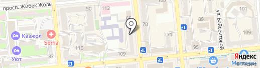 ORGANIC FOOD на карте Алматы