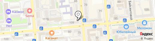 Fissman на карте Алматы