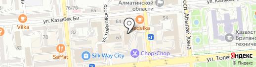 Сорос-Казахстан на карте Алматы