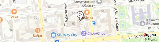Школа Шпагата Арианны Илимской на карте Алматы