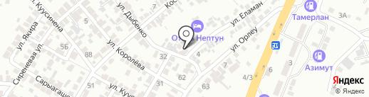 КОМПАС на карте Алматы