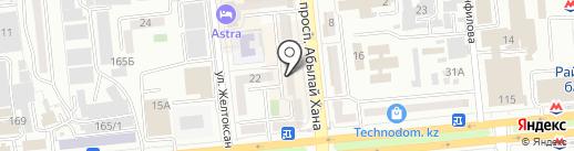 Фарма Мир, ТОО на карте Алматы