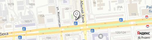 Сейф-Ломбард, ТОО на карте Алматы