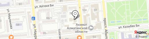 A13 WebLab на карте Алматы