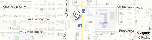 Городская поликлиника №32 на карте Алматы