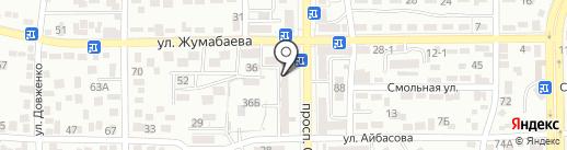 Городская поликлиника №13 на карте Алматы