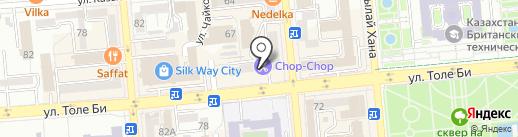 Свежий хлеб на карте Алматы