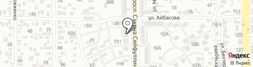 Эксима KZ на карте Алматы