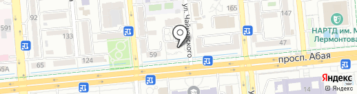 Банкомат, Qazaq Banki на карте Алматы