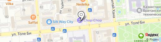 birdie на карте Алматы