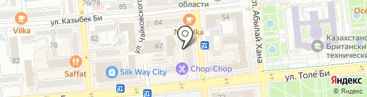SKD Oil Service, ТОО на карте Алматы