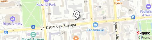 Текстиль для дома на карте Алматы