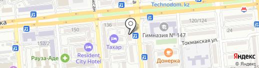 Антураж на карте Алматы