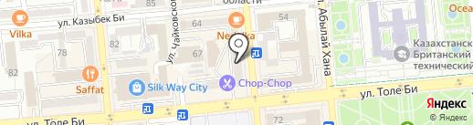 Башмачок Мастер на карте Алматы
