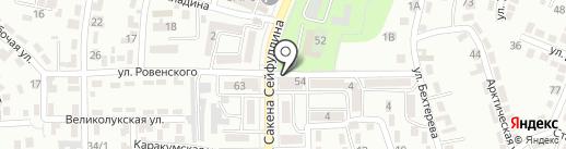 Эльнара на карте Алматы