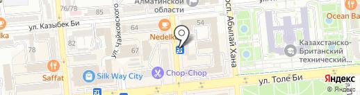 ИнтерТехСтрой на карте Алматы