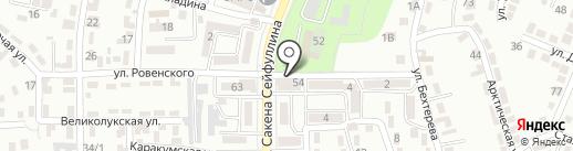Шугла на карте Алматы