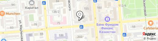 ЁМАЁ на карте Алматы
